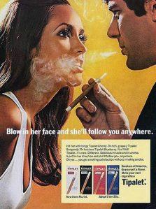 Hombre tabaco cigarros