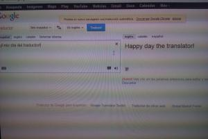 Happy day the translator