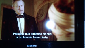 Dequeísmo - Ejemplo Downton Abbey